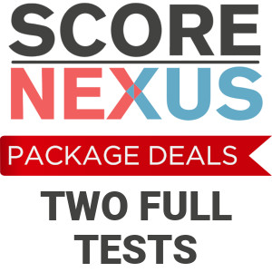 Package Deal TOEFL Practice Tests by ScoreNexus