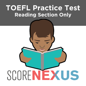 Reading Only TOEFL Practice Test